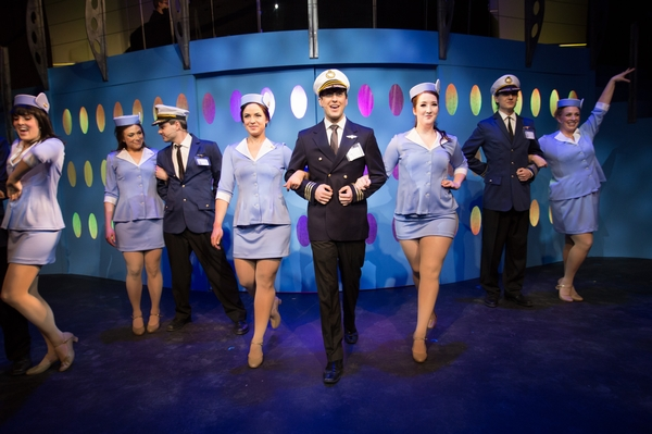 Nicole Bouwman, Bryan Smith and Nicole Heide in Catch Me If You Can