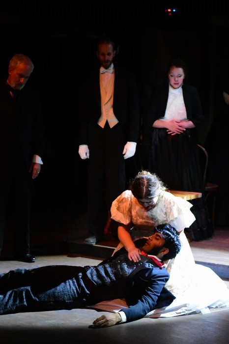 Gregor Schoenberg, Brad Simon, Emma Secord, Eva Knight and Praneet Akilla in Jekyll & Hyde