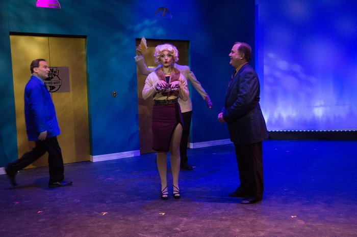 Ashley Soles, Murray Melnychuk and Gary Silberg in How to Succeed in Business Without Really Trying