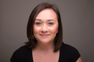 Allie Higgins-Pompu's Headshot from The Mystery of Edwin Drood