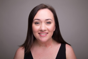 Allie Higgins-Pompu's Headshot from South Pacific
