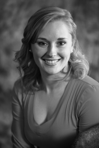 Jacqueline Bourque's Headshot from The Producers
