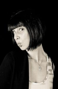 Lindsay Harle's Headshot from Monty Python's Spamalot