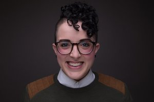 Danielle Desmarais's Headshot from Reefer Madness