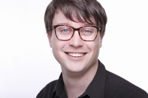 Mike Sornberger's Headshot from 9 to 5 The Musical