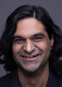 Rahim Manji's Headshot from The Who's Tommy