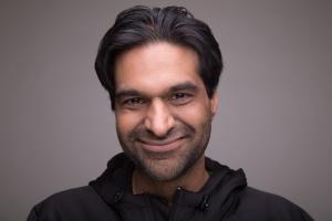 Rahim Manji's Headshot from South Pacific