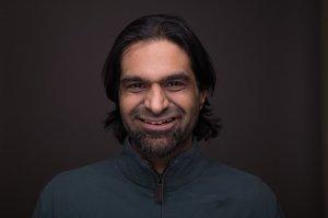 Rahim Manji's Headshot from Reefer Madness
