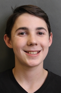 Aubrey Baux's Headshot from The Addams Family