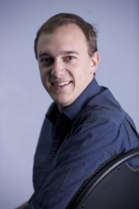Chris Willott's Headshot from Godspell