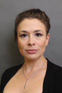 Ginette Simonot's Headshot from The Addams Family