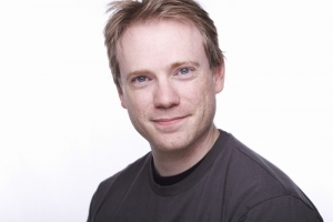 Darren Stewart's Headshot from 9 to 5 The Musical