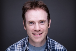 Darren Stewart's Headshot from Anything Goes