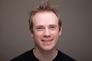 Darren Stewart's Headshot from The Mystery of Edwin Drood