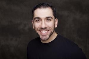 Jeffrey Diodati's Headshot from Jesus Christ Superstar
