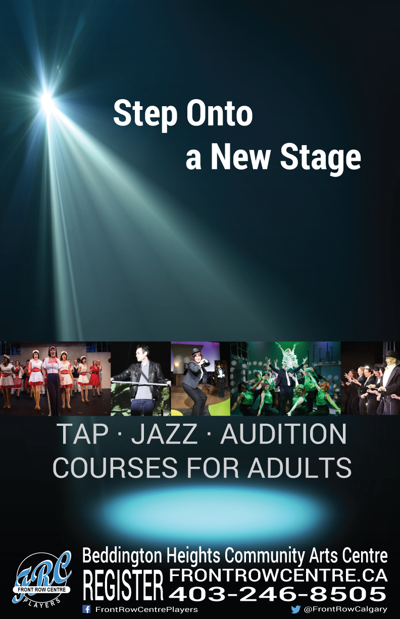 Musical Theatre Courses Poster for Classes in Calgary