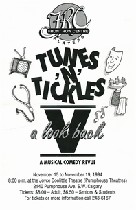 Poster for Tunes and Tickles V: A Look Back