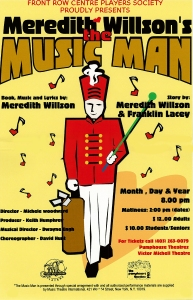 Poster for The Music Man