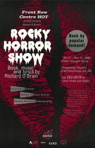 Poster for The Rocky Horror Show (Remount)