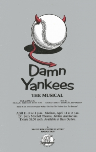 Poster for Damn Yankees