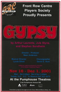Poster for Gypsy