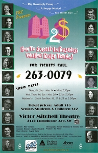 Poster for How to Succeed in Business Without Really Trying