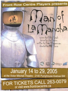 Poster for Man of La Mancha