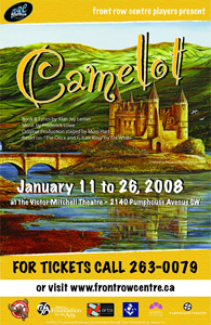 Poster for Camelot