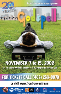 Poster for Godspell