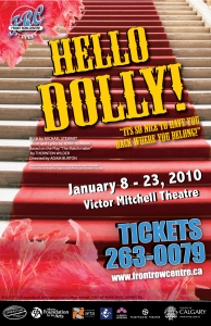 Poster for Hello Dolly!