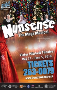 Poster for Nunsense the Mega Musical