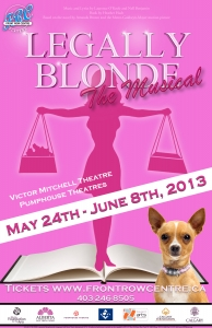 Poster for Legally Blonde