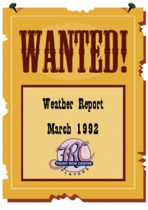 Poster for Weather Report