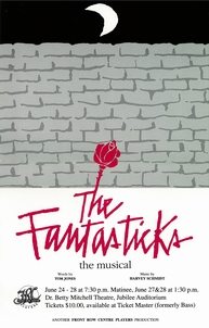 Poster for The Fantasticks