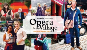 Poster for Iconic Broadway (Opera in the Village)