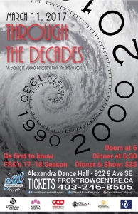Poster for Through the Decades