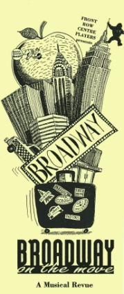 Poster for Broadway on the Move