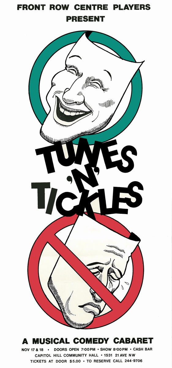 Poster for Tunes and Tickles