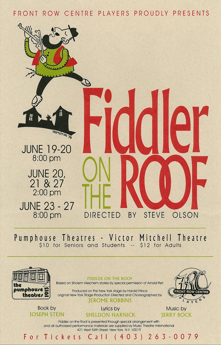Poster for Fiddler on the Roof