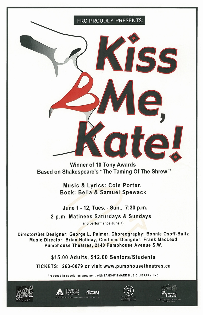 Poster for Kiss Me Kate