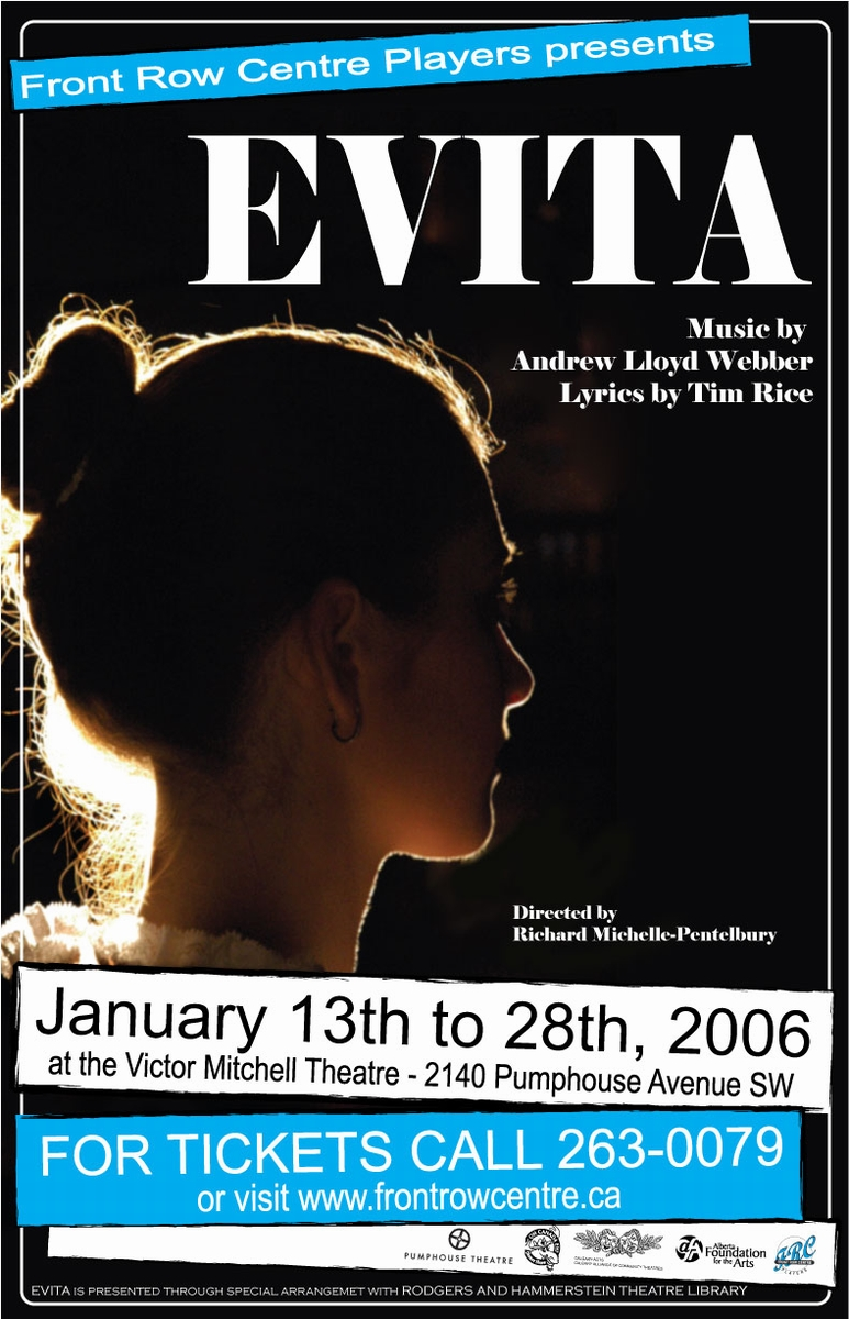 Poster for Evita