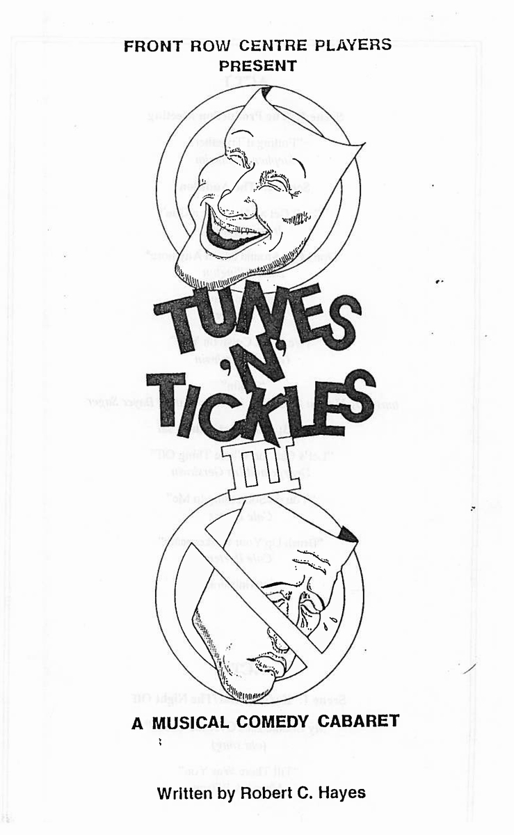 Poster for Tunes and Tickles III