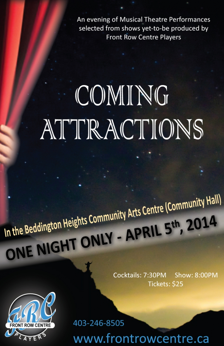 Poster for Coming Attractions