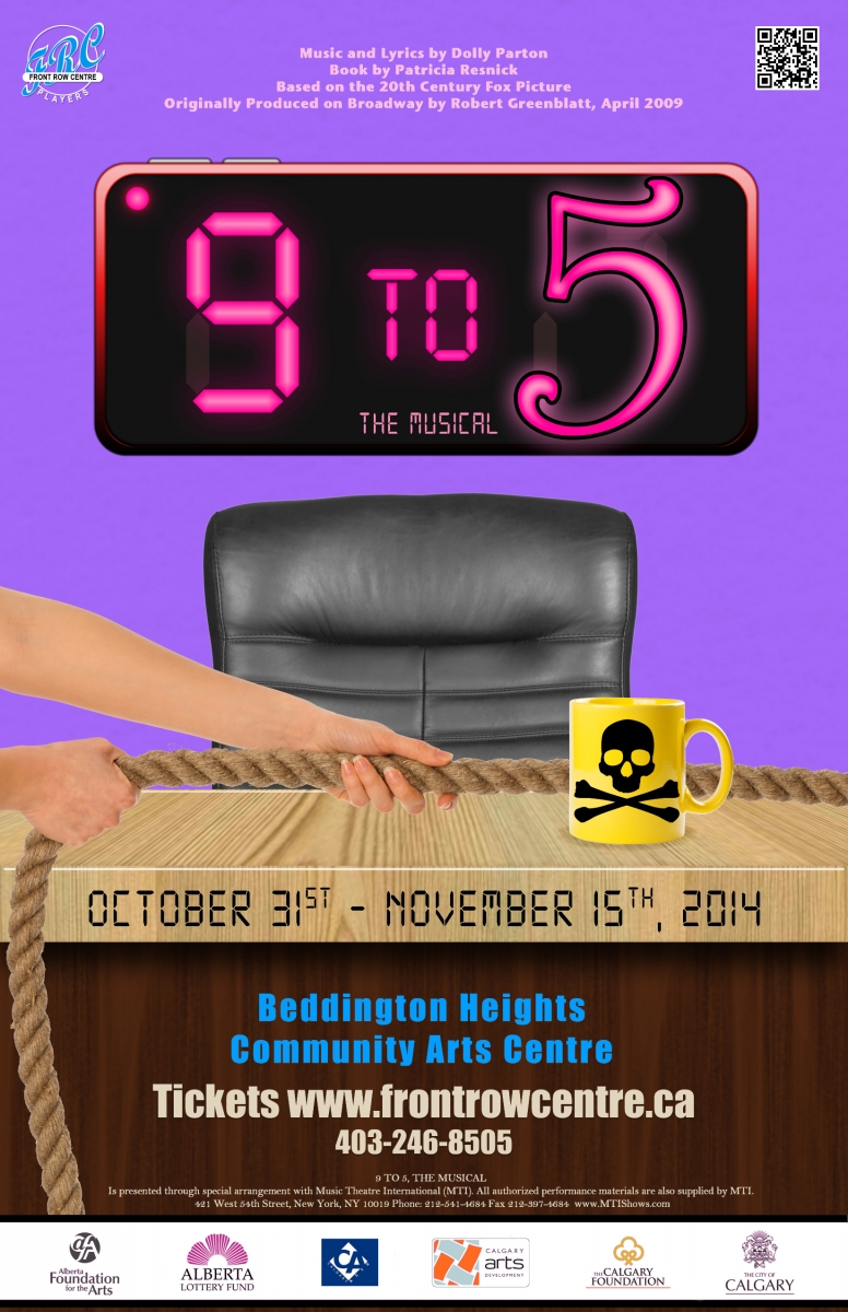 Poster for 9 to 5 The Musical