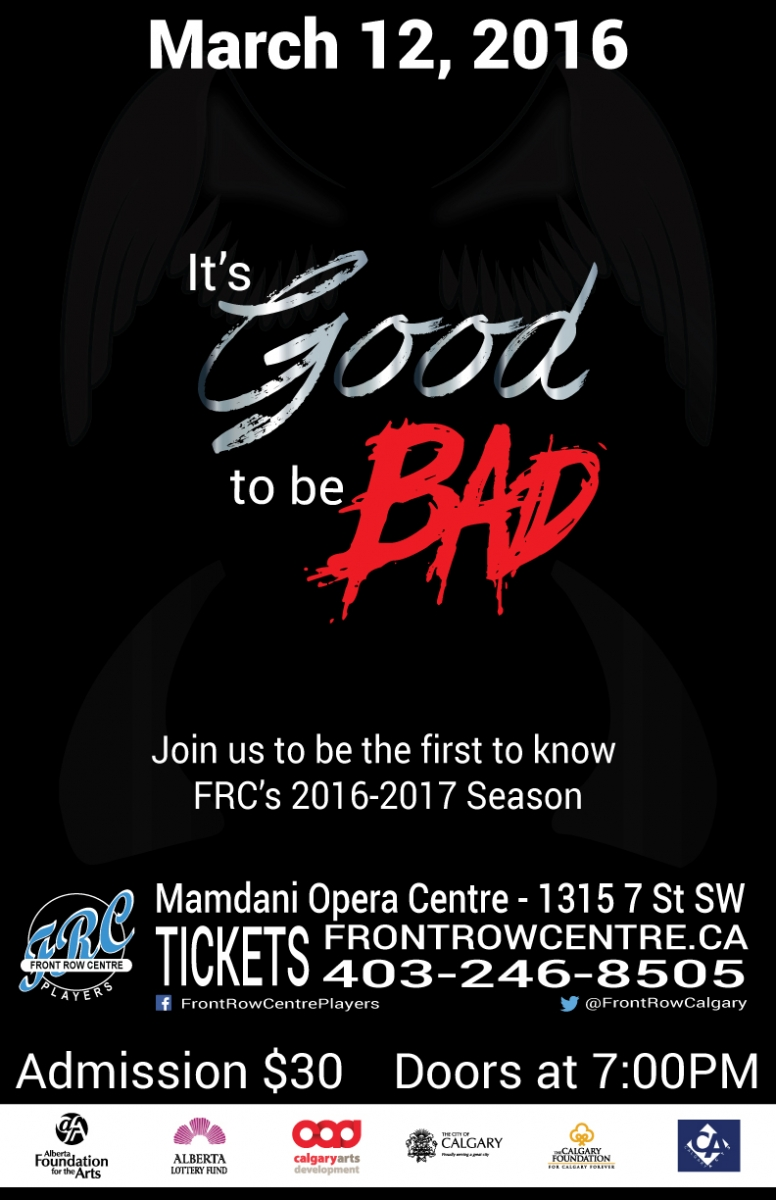 Poster for It's Good to be Bad