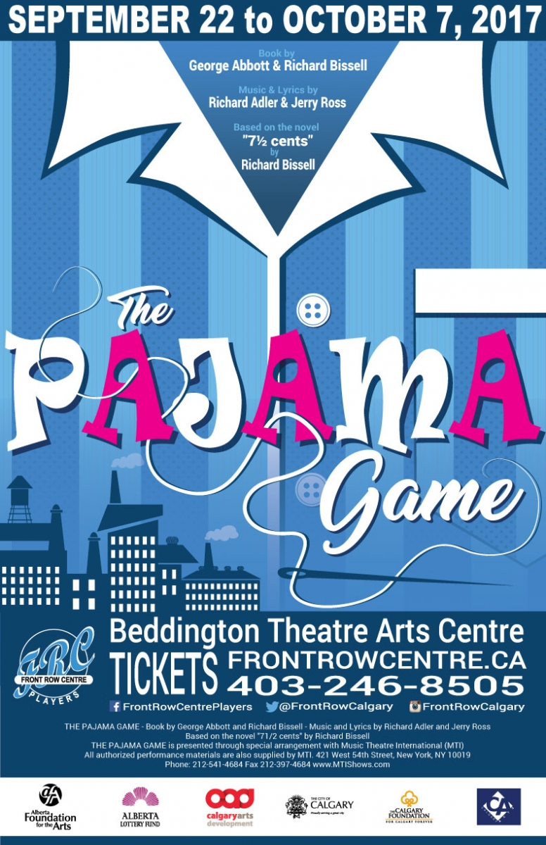 Poster for The Pajama Game